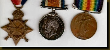 Private Michael John (Jack) O'Connor's Medals