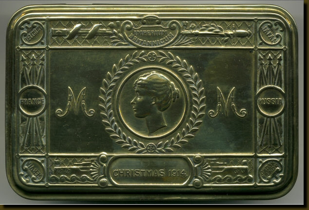 Queen Mary's Christmas Box to the Troops