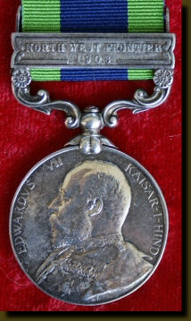 North West Frontier Medal 1908